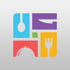 square-food-logo-template
