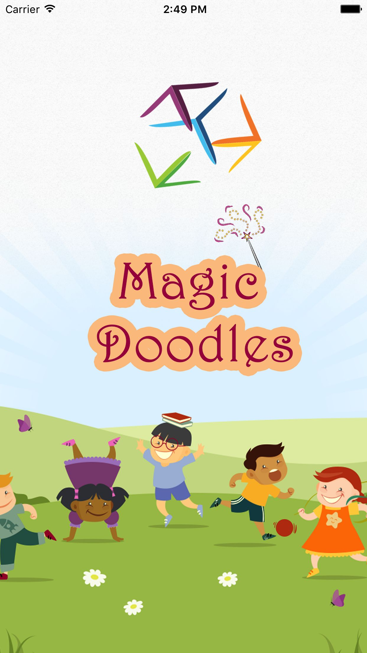 Kids Magic Doodles - Full iOS Xcode Project Screenshot 1