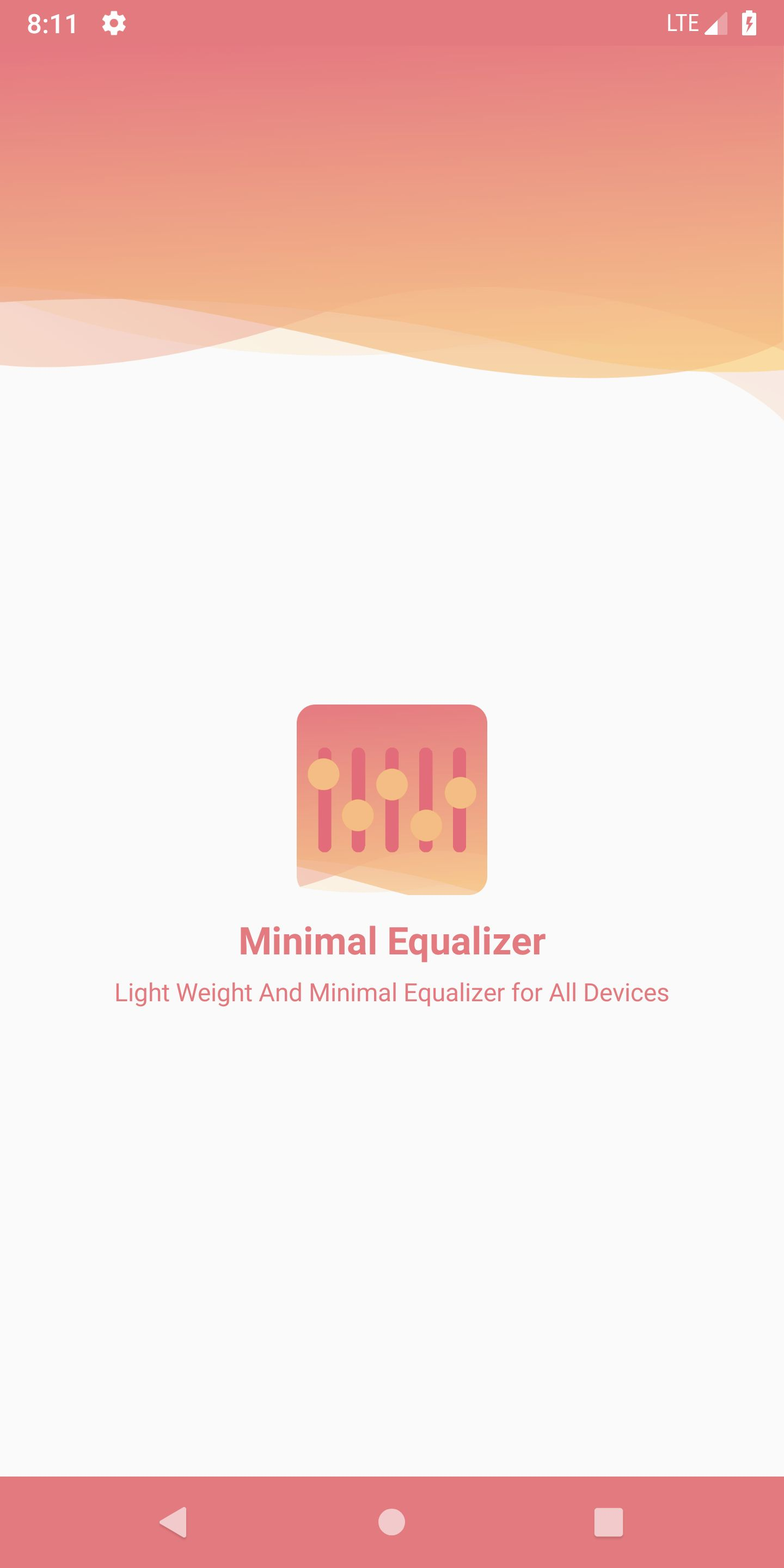 Minimal Equalizer Android Source Code