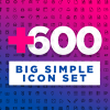 Big Simple Icons