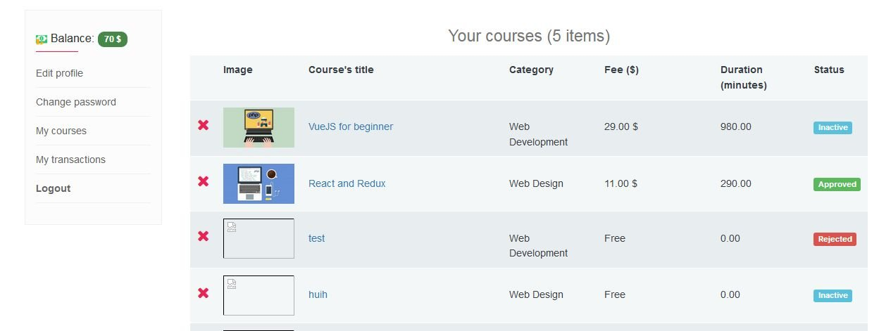 Vina Elearning Management System Screenshot 27