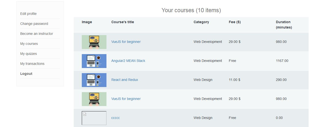 Vina Elearning Management System Screenshot 40