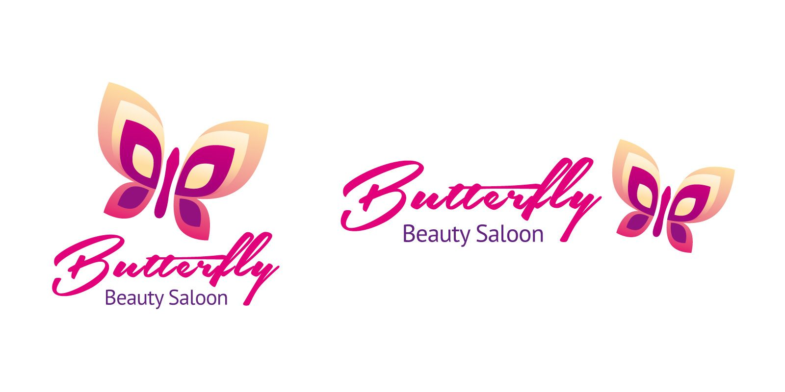 Butterfly Logo Template Screenshot 1