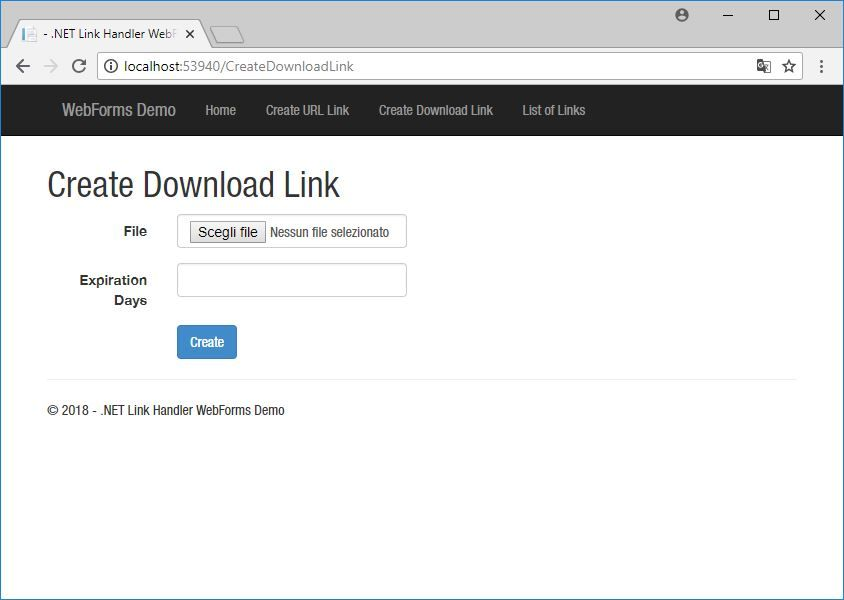 .NET Link Handler Screenshot 8