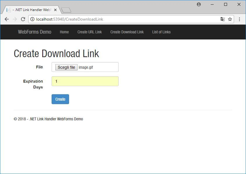 .NET Link Handler Screenshot 9