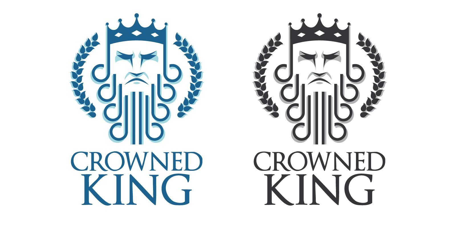 Crowned King Logo Screenshot 1