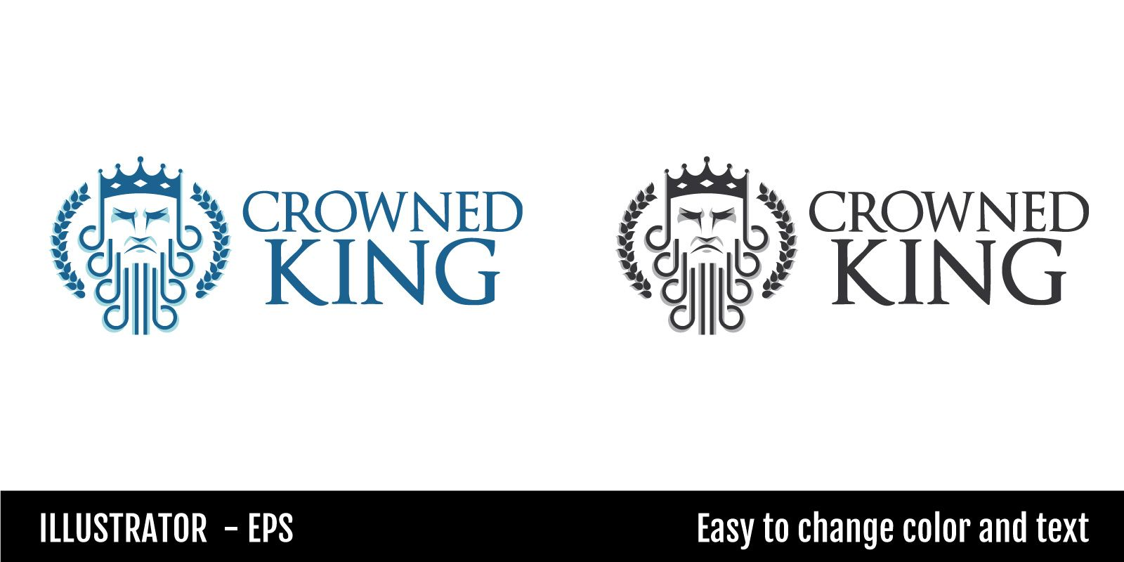 Crowned King Logo Screenshot 2