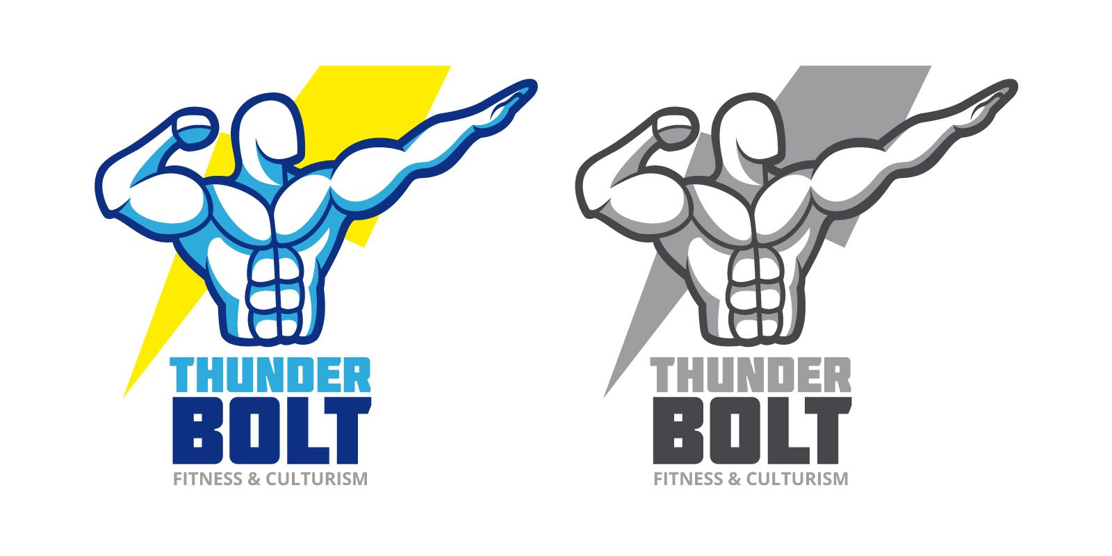 Thunder Bolt Logo Screenshot 1