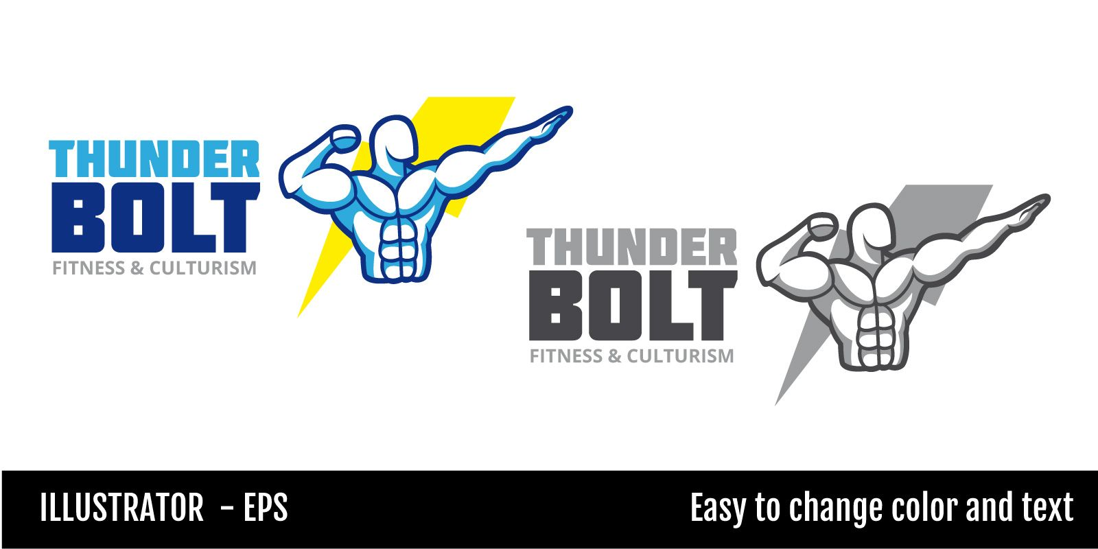 Thunder Bolt Logo Screenshot 2