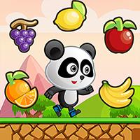 Panda Fruit Run - Buildbox Game Template