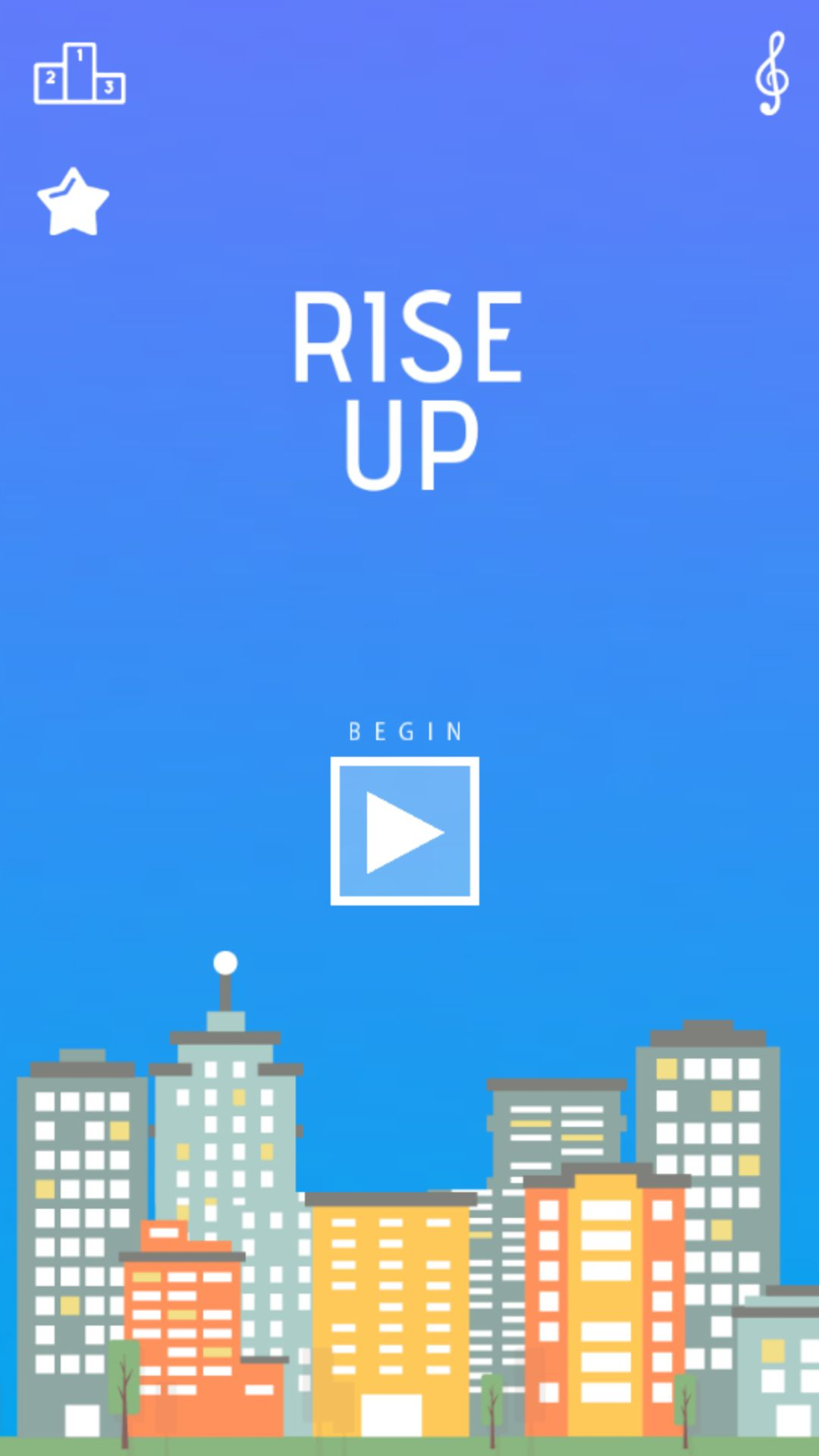 Rise Up Ball - Buildbox Game Template  Screenshot 1