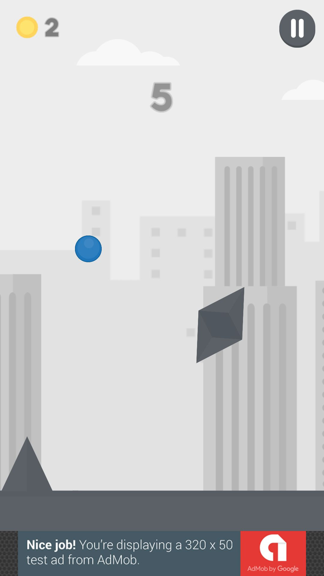 Jumping Ball - Buildbox Game Template Screenshot 5