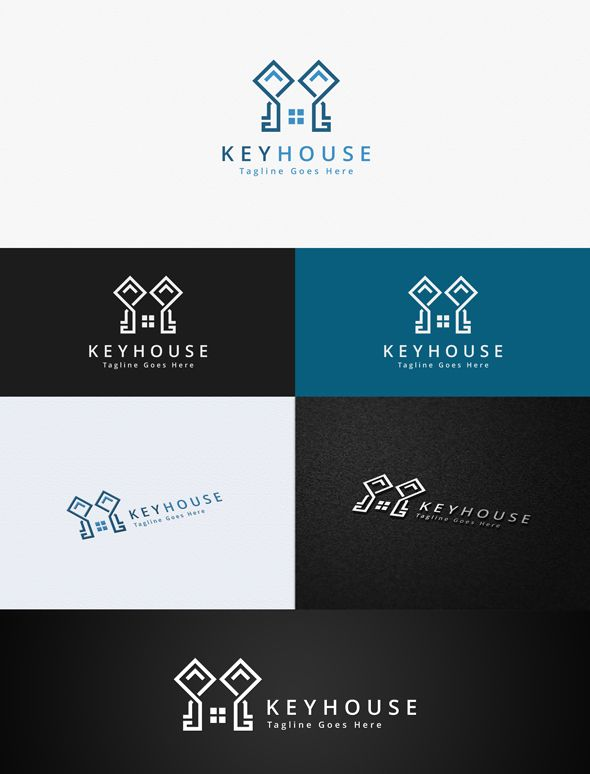 Key House Logo Template Screenshot 1
