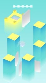 Cube Jump Buildbox Template Screenshot 3