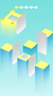 Cube Jump Buildbox Template Screenshot 5