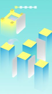 Cube Jump Buildbox Template Screenshot 6
