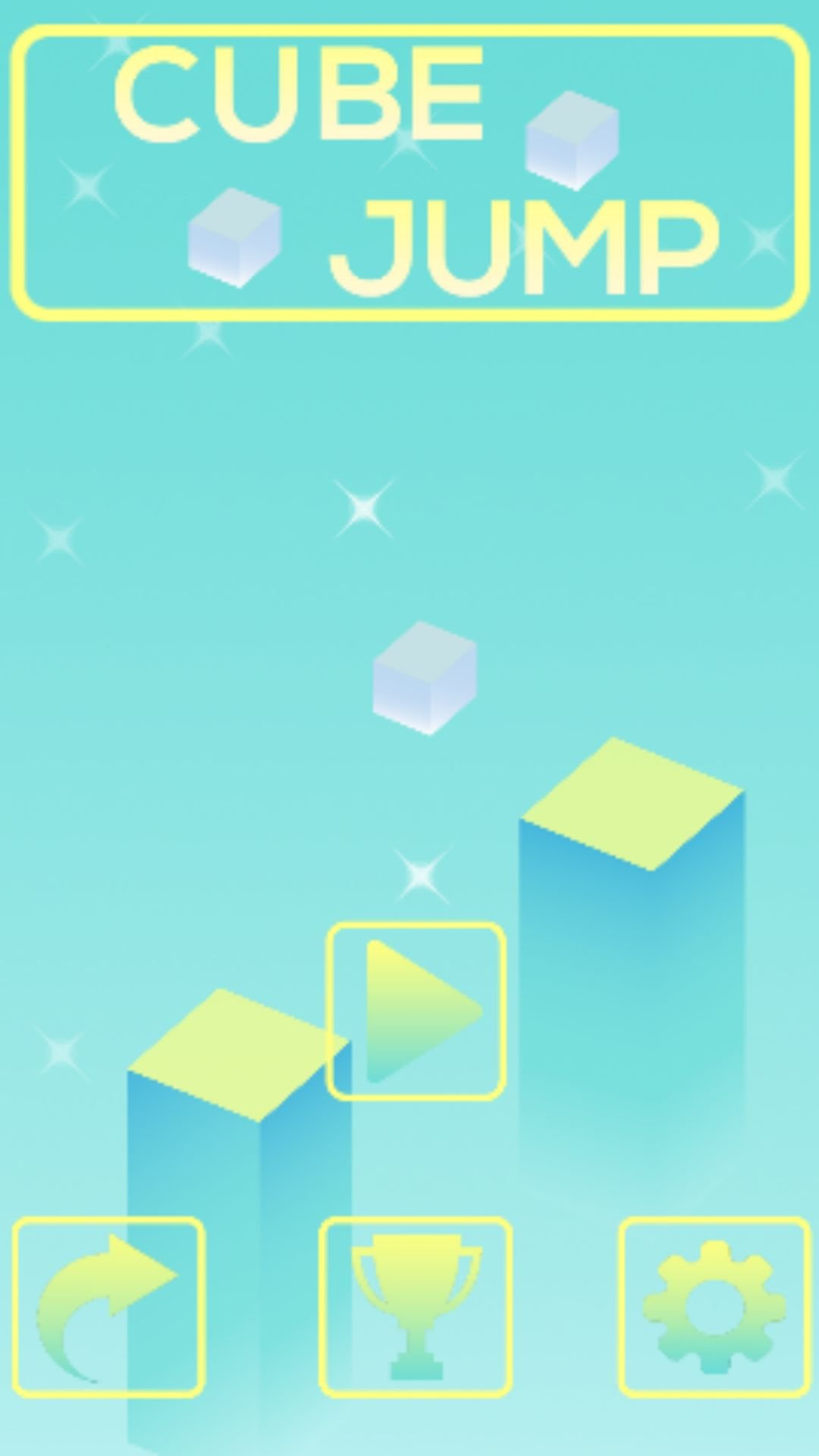 Cube Jump Buildbox Template Screenshot 7