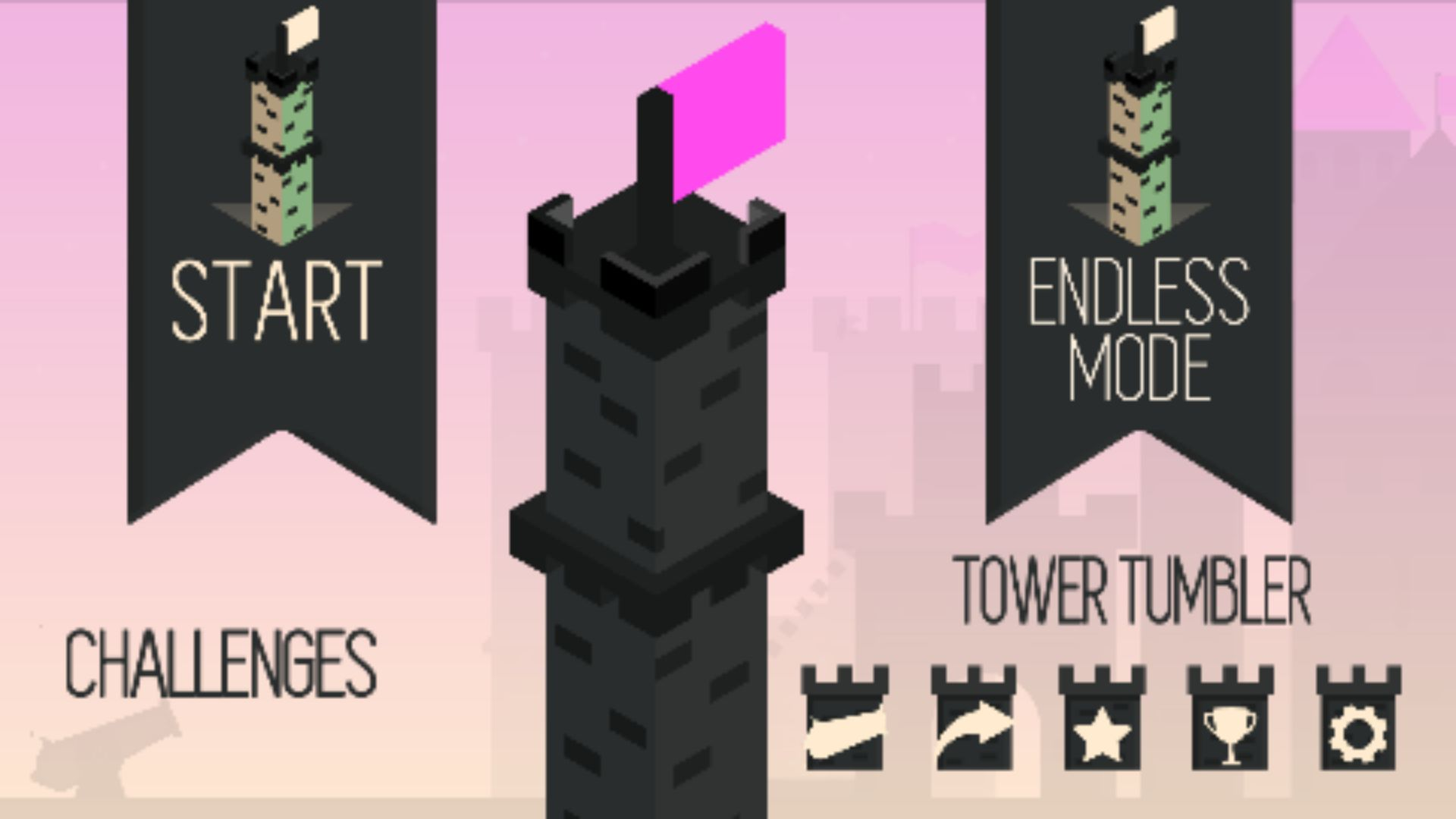 Tower Tumbler Buildbox Template Screenshot 3
