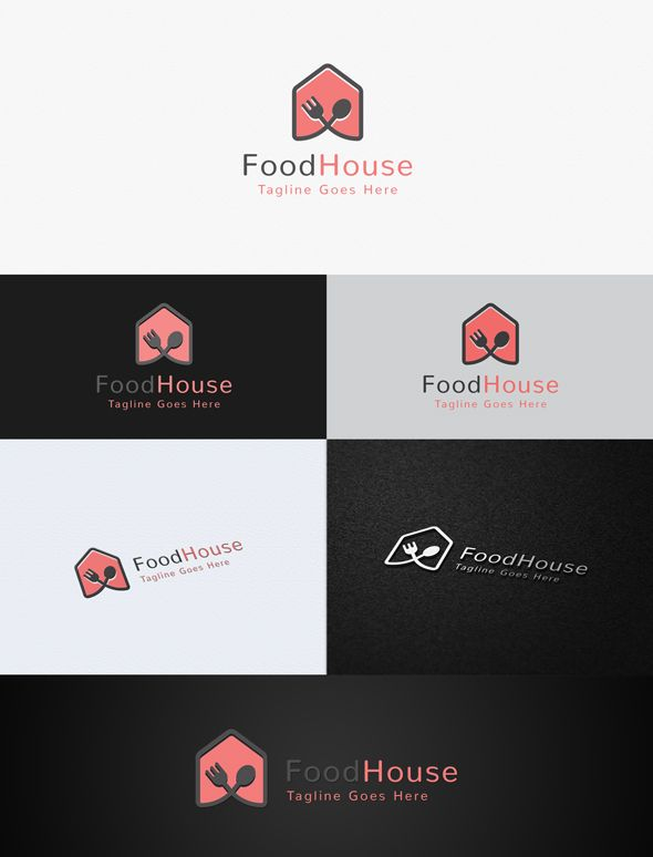 Food House Logo Template Screenshot 1