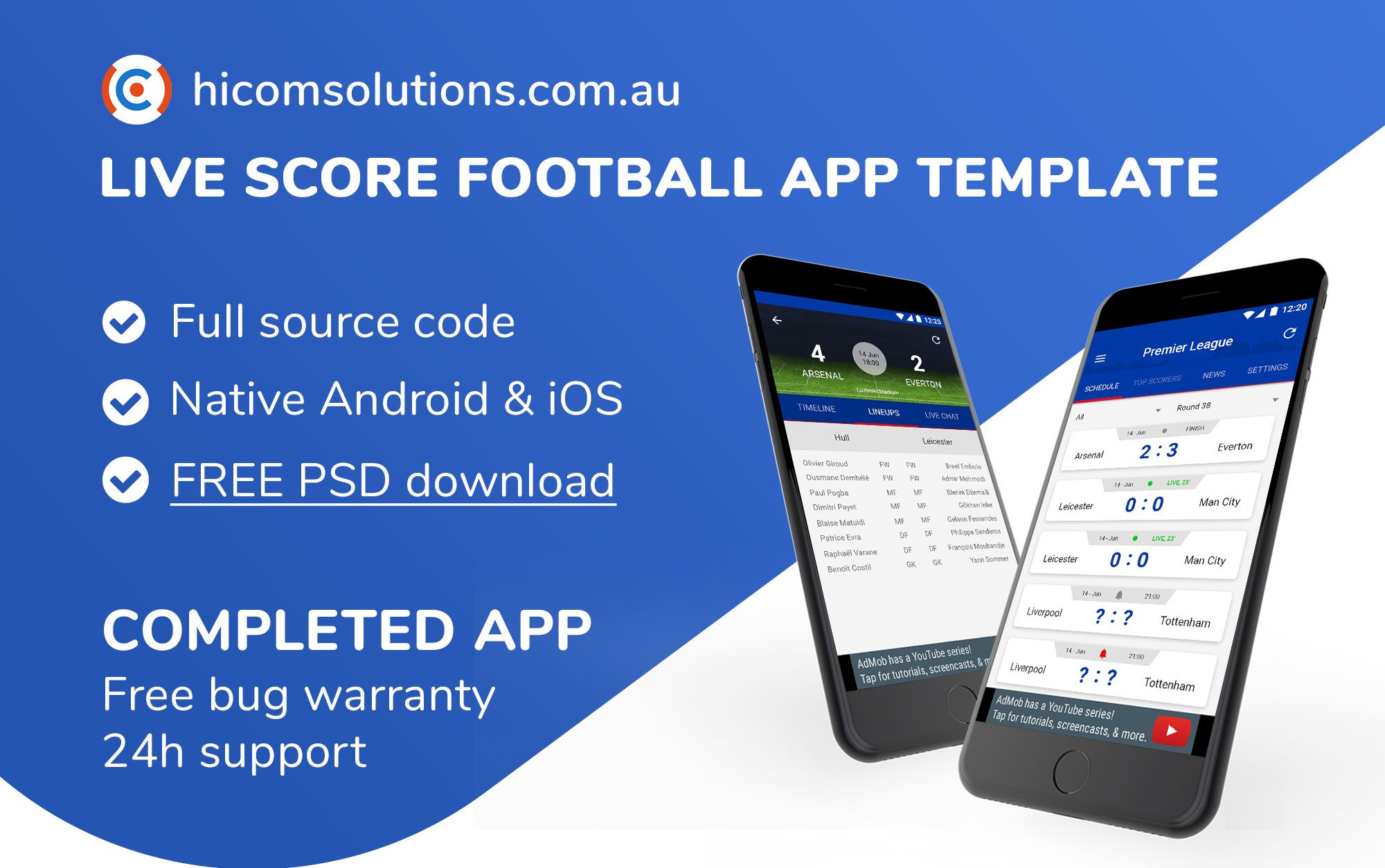 Live Score Football App Season 2018-19 For Android Screenshot 1