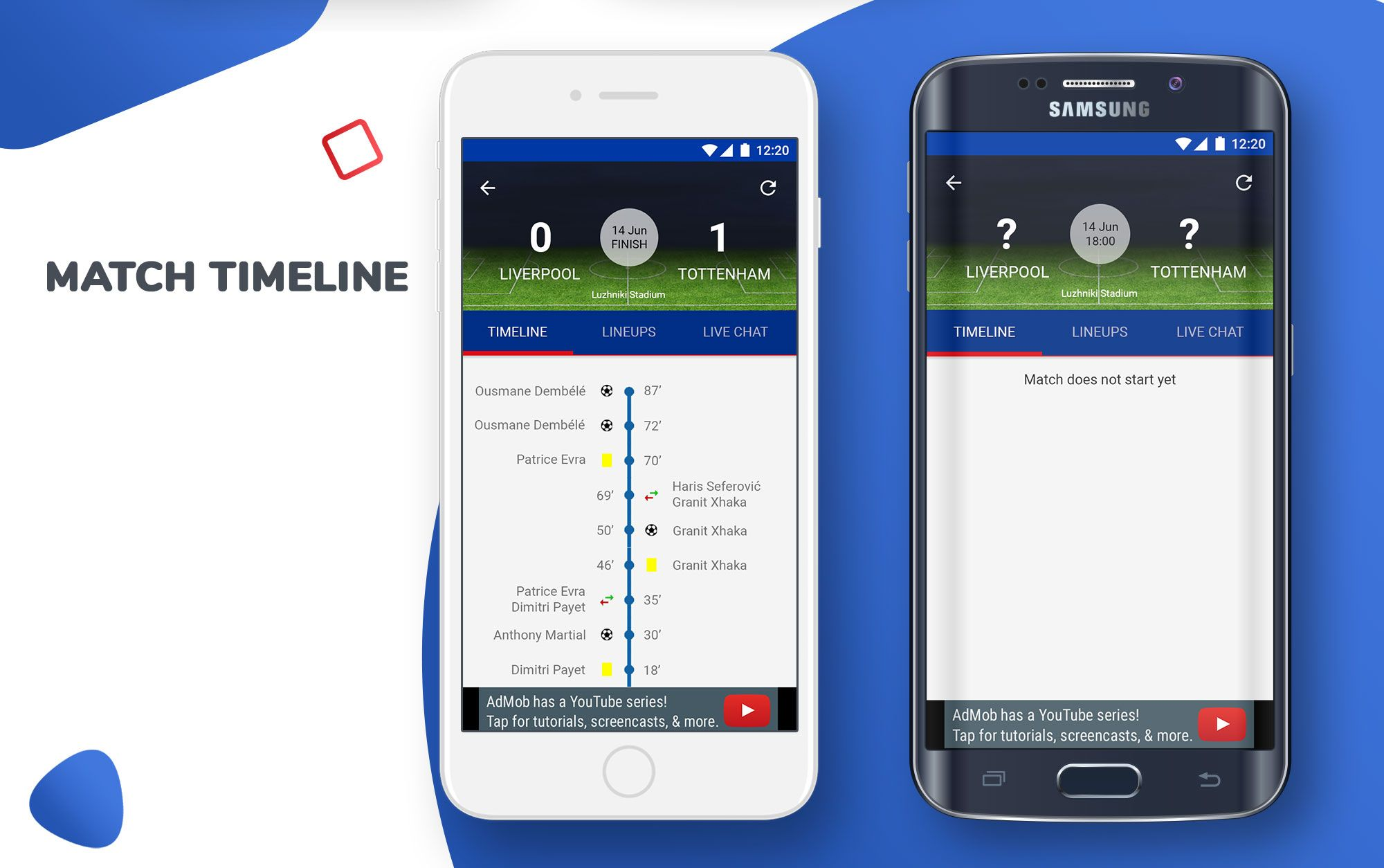 Live Score Football App Season 2018-19 For Android Screenshot 3