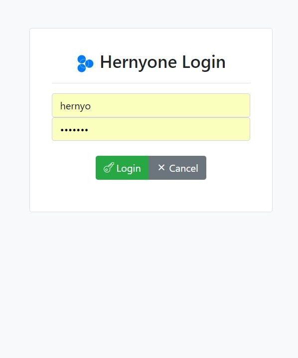 Hernyo One - Flat-file CMS PHP Screenshot 4