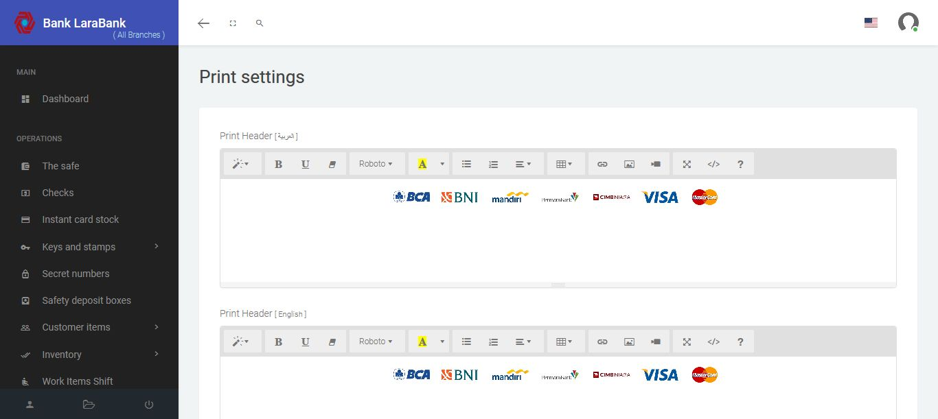 LaraBank CMS - Bank Management System Screenshot 9