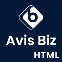 Avis Biz - HTML Template