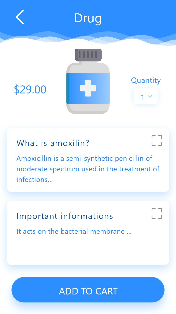 Ion-Medical - Ionic Medical UI Theme Screenshot 3
