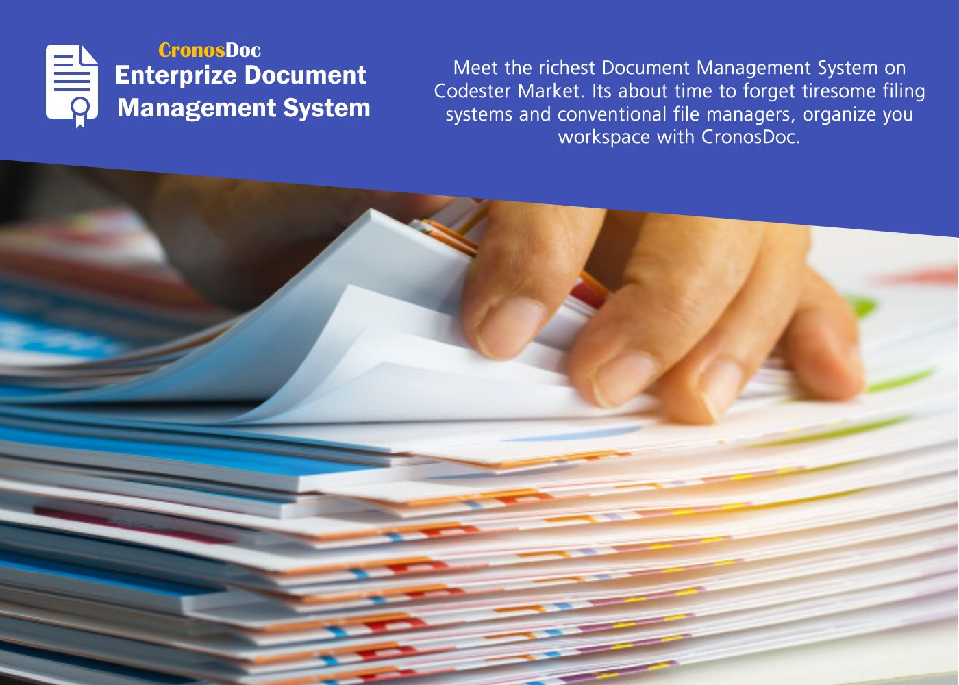 CronoDoc Electronic Document Management System PHP Screenshot 3