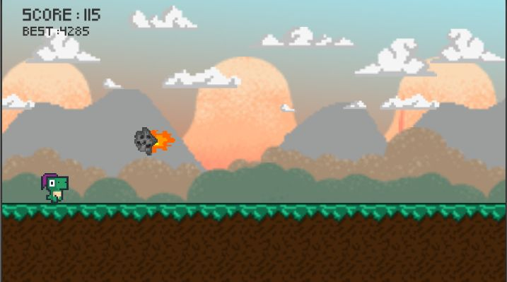 Dino Run Full Unity Project Screenshot 1