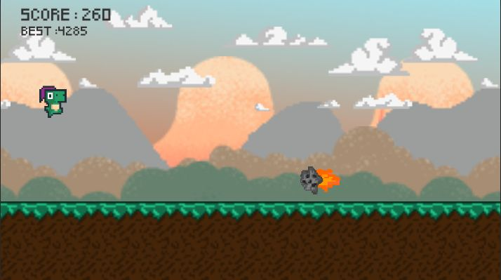 Dino Run Full Unity Project Screenshot 2