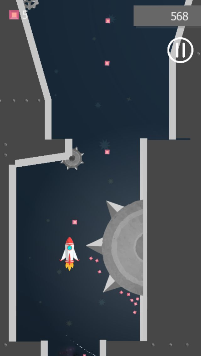 Rocket Space - Buildbox Template Screenshot 3