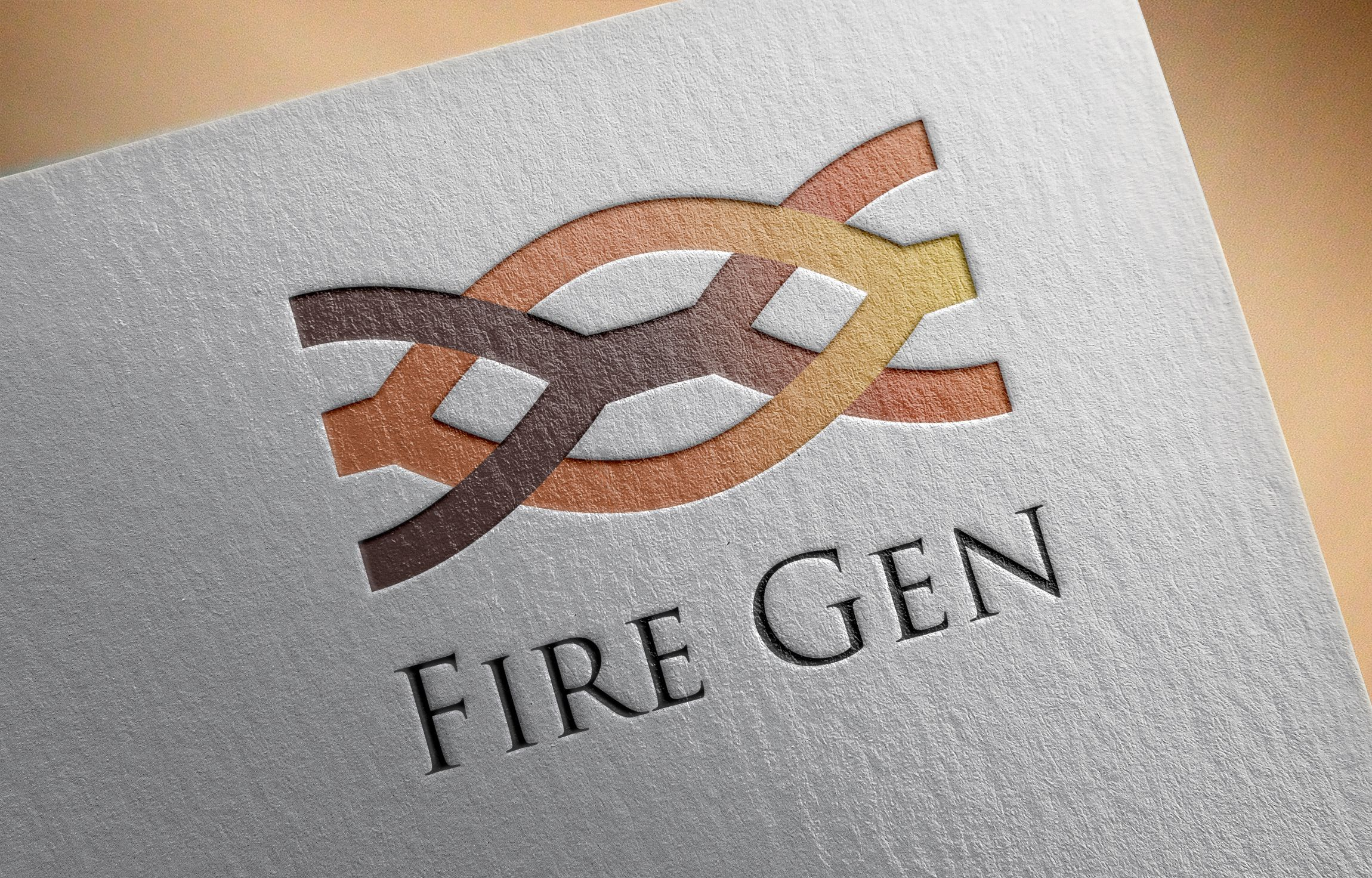 Logo Template Fire Gen Screenshot 1