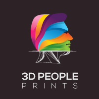 3D People Printing Logo