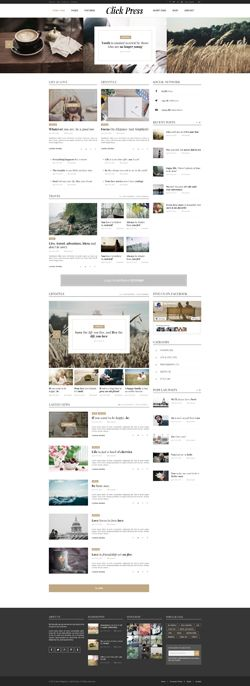 Click Press - Magazine WordPress Theme Screenshot 4