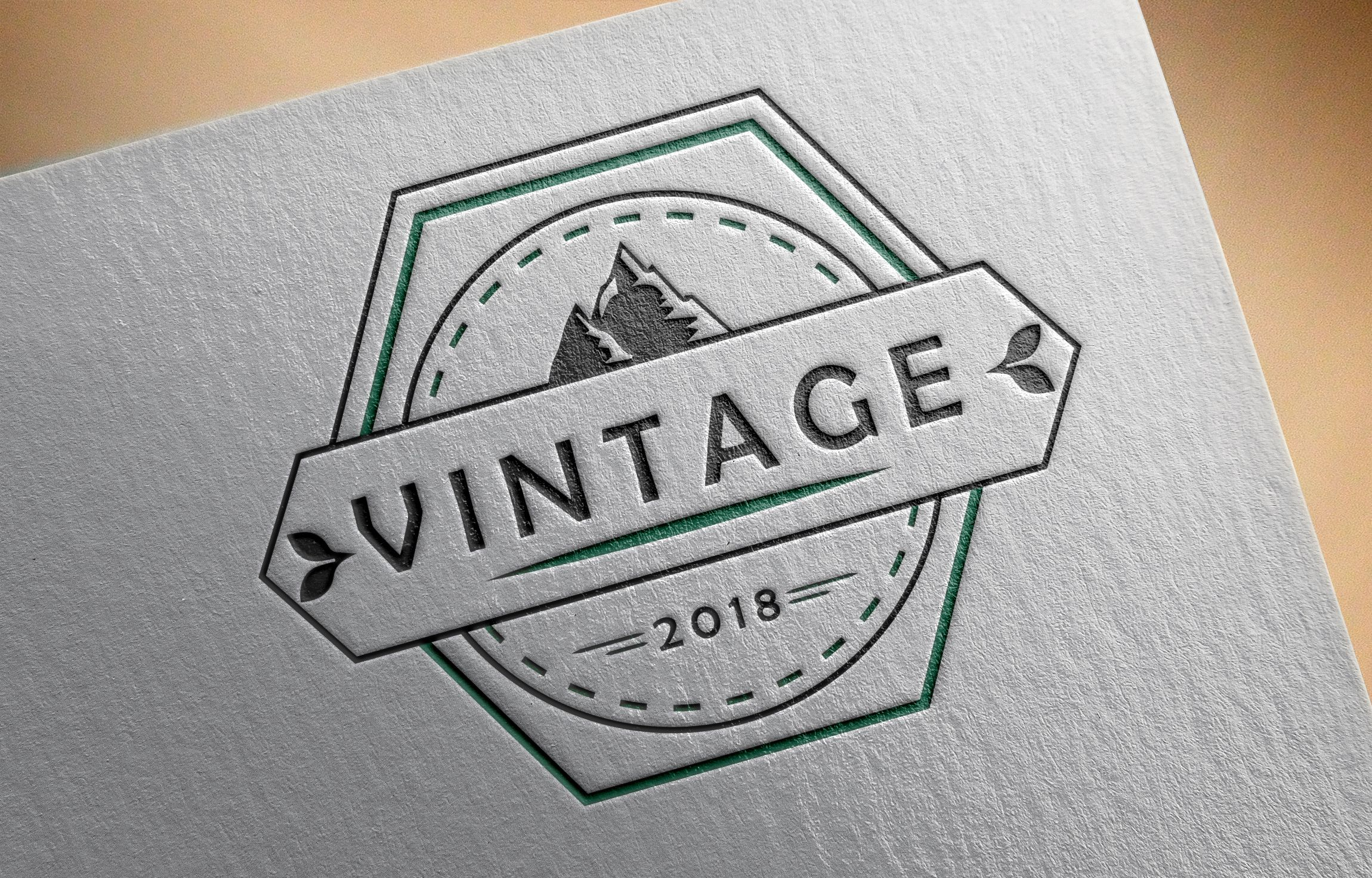 Logo Template Vintage Screenshot 1