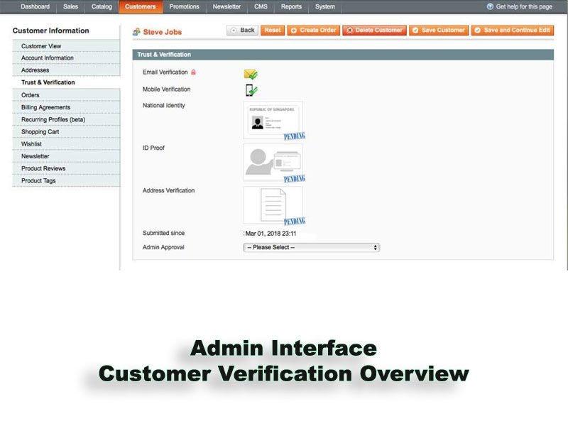 Trust And Verification Extension for Magento Screenshot 8