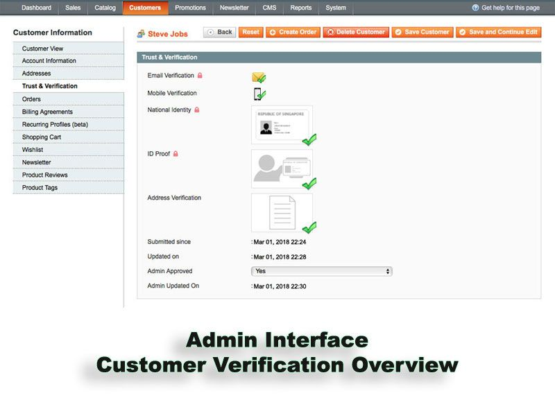 Trust And Verification Extension for Magento Screenshot 10