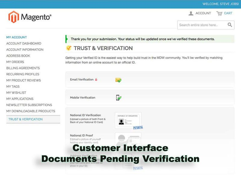Trust And Verification Extension for Magento Screenshot 11
