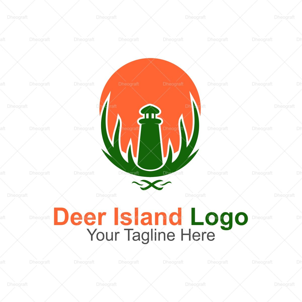 Deer Island Logo Screenshot 1