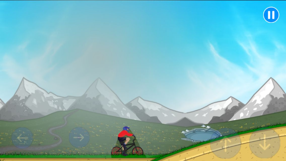 BMX Climbing Adventure - Buildbox Template Screenshot 4