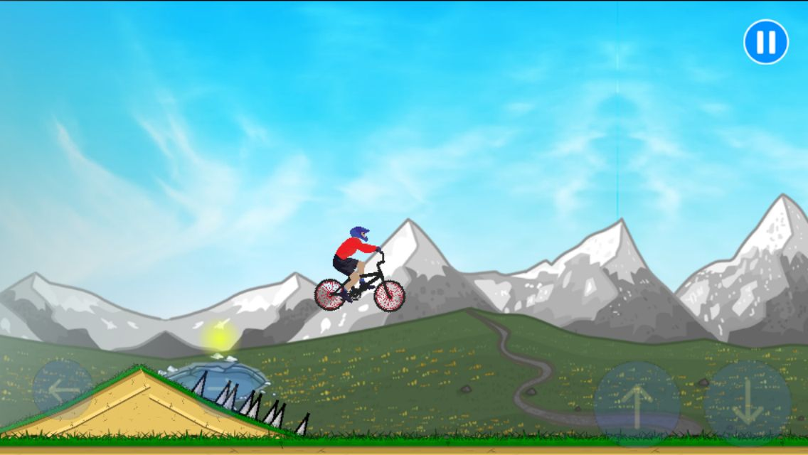 BMX Climbing Adventure - Buildbox Template Screenshot 5