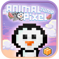 Animal Jump Pixel Buildbox Template