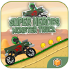 Super Heroes Monster Truck - Buildbox Template