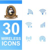 30 Wireless Icons