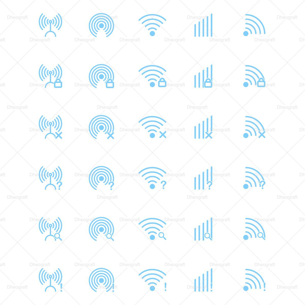 30 Wireless Icons Screenshot 1