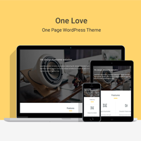 One Lover - One Page WordPress Theme