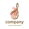 Cookie Logo Template