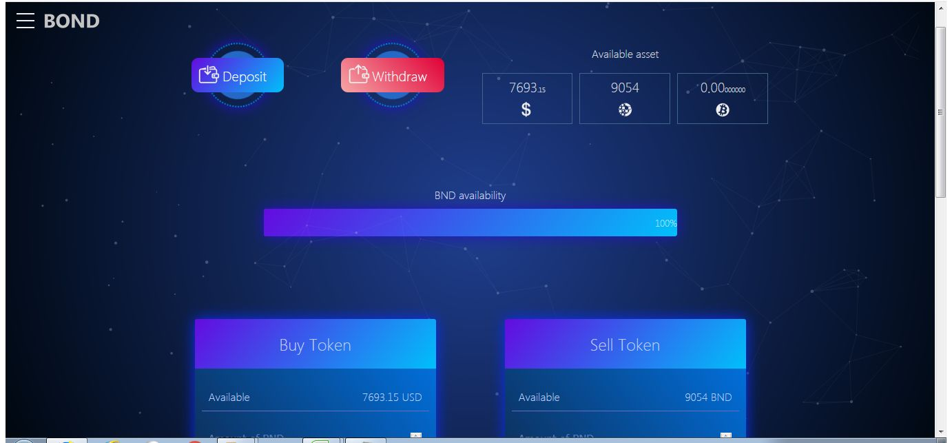 Bond Coin - ICO Token Sales Platform Screenshot 5